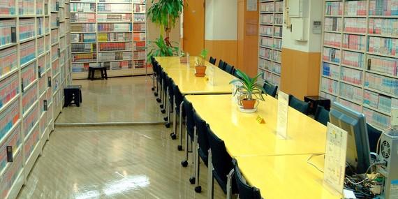 東京都世田谷区にあるまんがの図書館 ガリレオ