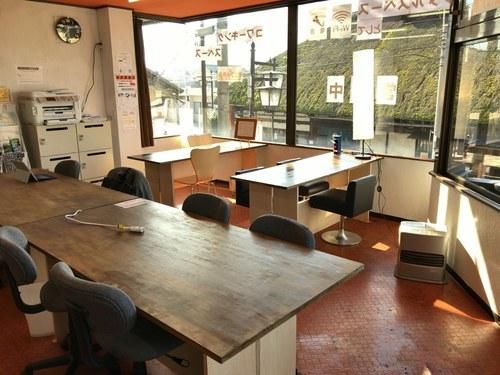 コワーキングスペース&カフェ「アルゴット戸倉」