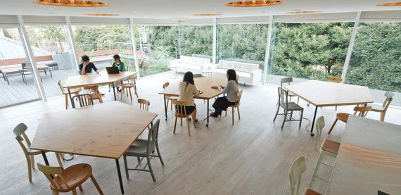 東京都渋谷区にあるコワーキングスペース THE SCAPE (R) (ザ・スケープ・アール)