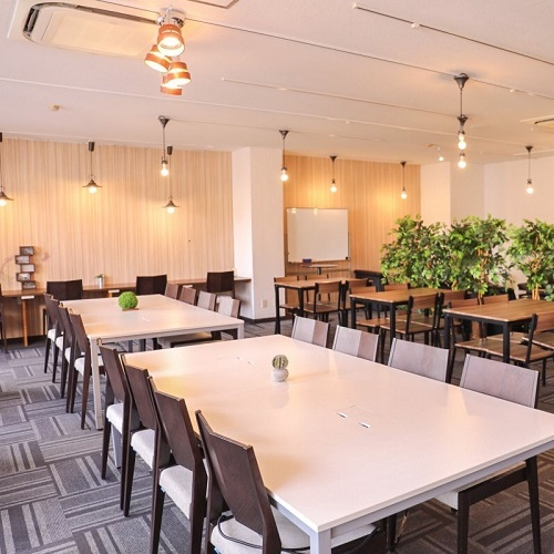 愛知県名古屋市中区にあるコワーキングスペース Share ability space Enicia 栄店(シェアアビリティスペース エニシア)