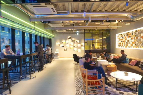 東京都渋谷区にあるコワーキングスペース andwork shibuya(アンドワーク渋谷)