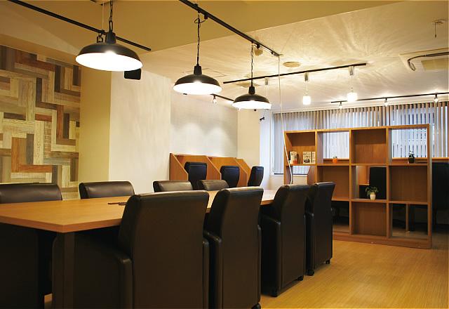 宮城県仙台市青葉区にある勉強カフェ 仙台一番町スタジオ