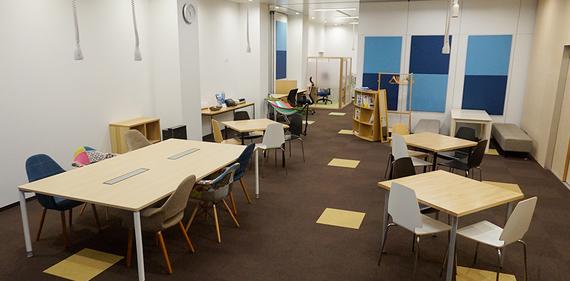 静岡県浜松市中区にあるコワーキングスペース コミュニティスペース Any-エニィ-
