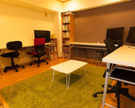 大阪府大阪市北区にあるコワーキングスペース Biz Library(ビズライブラリー)