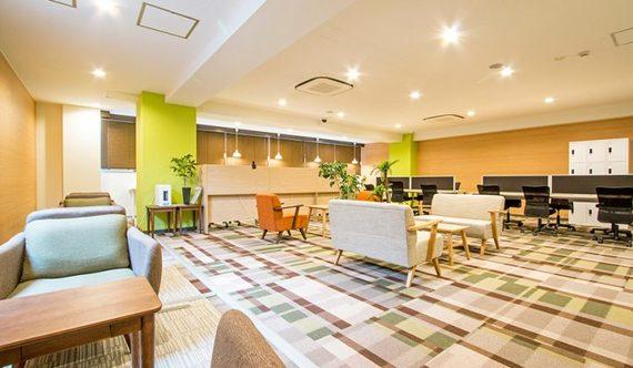 東京都江東区にあるコワーキングスペース COffice亀戸(コフィス)