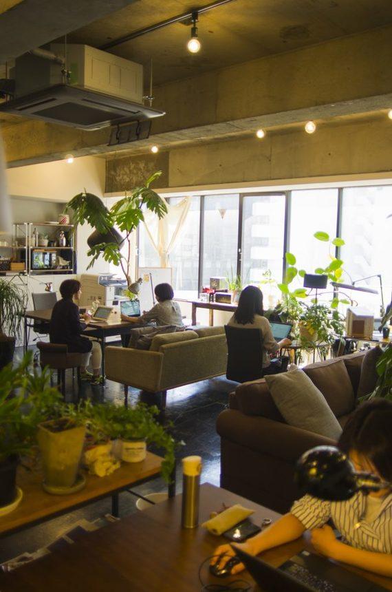 東京都中央区にあるコワーキングスペース flat5(フラット ファイブ)