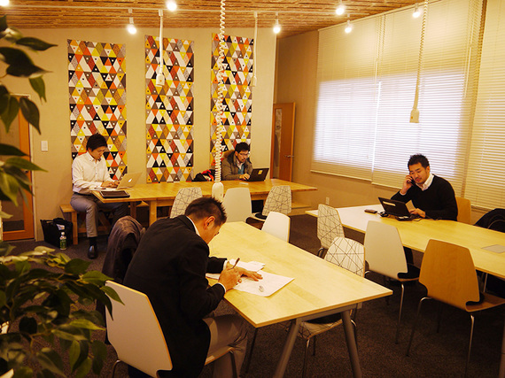 福島県いわき市にあるコワーキングスペース NPO法人TATAKIAGE Japan(タタキアゲジャパン)