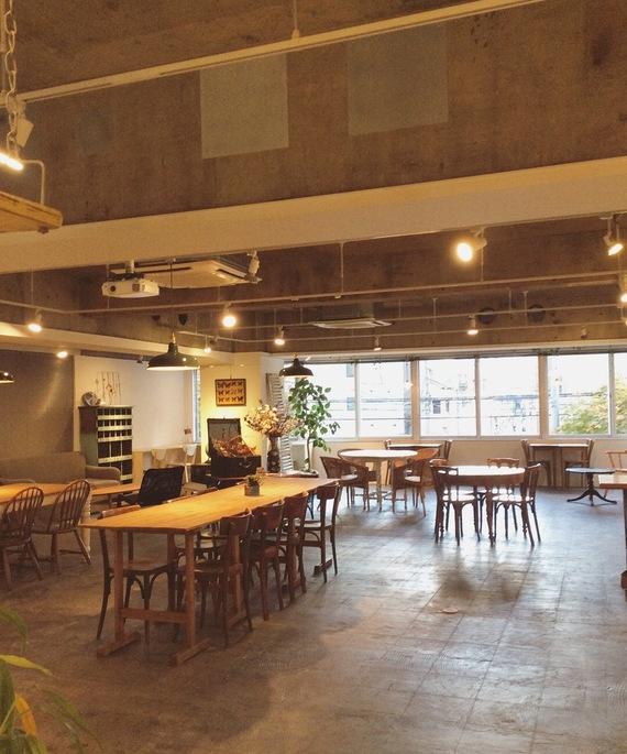 東京都台東区にあるコワーキングスペース レンタルスペース&カフェ パズル浅草橋