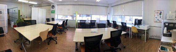 千葉県千葉市中央区にある千葉コワーキングスペース201
