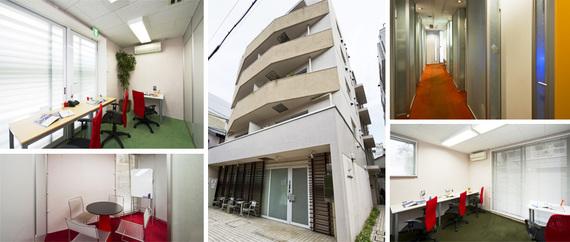 東京都港区にあるコワーキングスペース オープンオフィス麻布十番