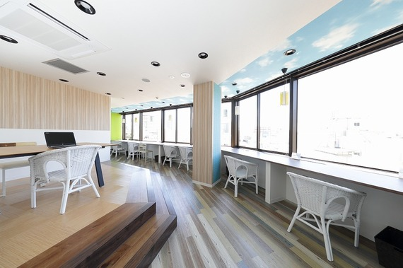 兵庫県神戸市中央区にあるコワーキングスペース BIZcomfort神戸三宮