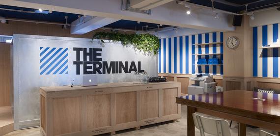 東京都渋谷区にあるコワーキングスペース THE TERMINAL(ザ・ターミナル)