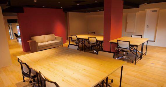 神奈川県鎌倉市にあるコワーキングスペース 鎌倉・旅する仕事場 御成オフィス