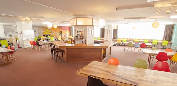 東京都品川区にあるコワーキングスペース Samurai Startup Island(サムライ スタートアップ アイランド)