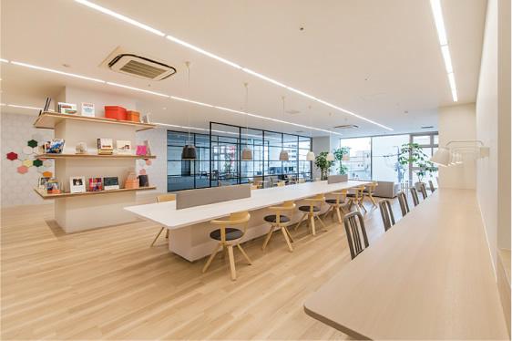静岡県浜松市中区にあるコワーキングスペース Share ability space Enicia 浜松店(シェアアビリティスペース エニシア)