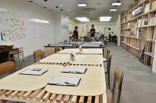福井県福井市にあるコワーキングスペース 福井市まちづくりセンター「ふく+(タス)」
