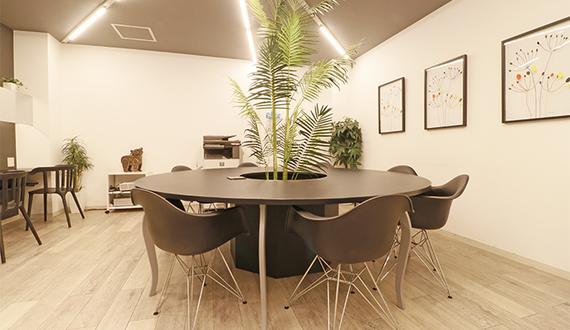 東京都千代田区にあるコワーキングスペース THE OFFICE 神田 アセットデザイン(ザ・オフィス)