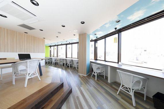 兵庫県神戸市中央区にあるコワーキングスペース COffice神戸旧居留地(コフィス)