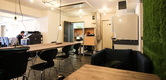 東京都渋谷区にあるコワーキングスペース ありんこオフィス