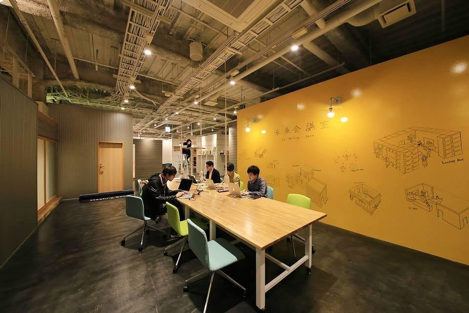 熊本県熊本市中央区にある未来会議室