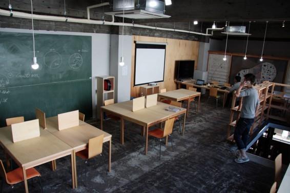 福井県福井市にあるコワーキングスペース コワーキングスペース サンカク