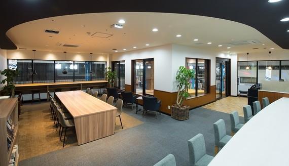 三重県四日市市にあるコワーキングスペース MG YOKKAICHI Living