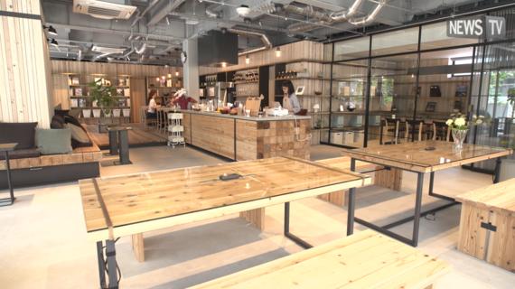 東京都千代田区にあるコワーキングスペース W CAFE(ダブリューカフェ)