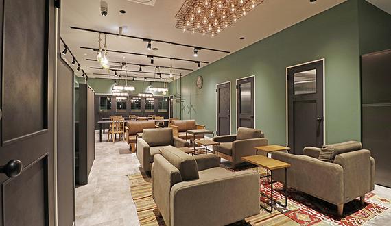 東京都新宿区にあるコワーキングスペース THE HUB 新宿 アセットデザイン(ザ・ハブ)