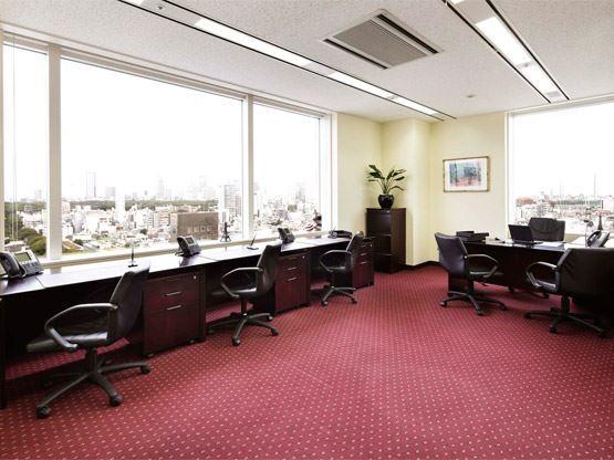 東京都港区にあるサーブコープ青山パラシオタワーコワーキングスペース