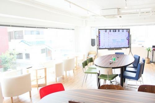 東京都目黒区にあるコワーキングスペース TREE7 coworking(ツリーセブン コワーキング)
