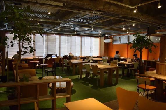 広島県広島市中区にあるコワーキングスペース Coworking Space Shake Hands