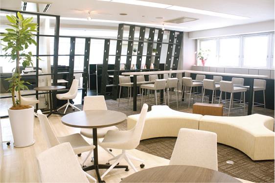 愛知県名古屋市中村区にあるコワーキングスペース Share ability space Enicia 名駅店(シェアアビリティスペース エニシア)