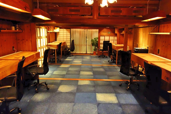 島根県雲南市にあるコワーキングスペース 三日市ラボ