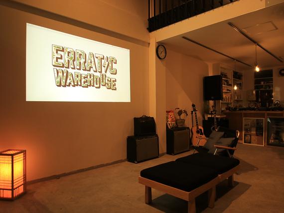 静岡県島田市にあるコワーキングスペース ERRATIC WAREHOUSE(エラティック ウェアハウス)